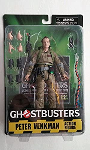 Ghostbusters Peter Venkman Diamond Select Toys 7 inch Action Figure Exclusive