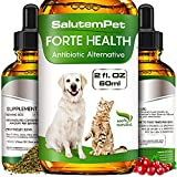 Natural Herbal Supplement for Dog and Cat - Universal Treat in Drops for General Strengthening - Allergy Relief and Immune Support for Dogs - for Dry, Wet & Barkly Kennel Cough - Cat UTI Minimizer
