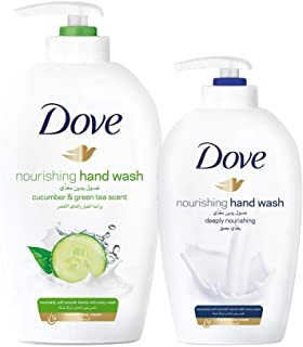 Dove Go Fresh Nourishing Hand Wash, 500ml + Hand Wash 220ml, Assorted