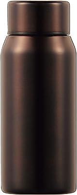 カクセー ステンレスボトル MC-BO 180ml ブラウン