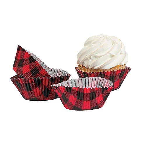 red and black cupcake liners - 3