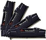 G.Skill RipJaws V Series 128GB (4 x 32GB) 288-Pin SDRAM PC4-28800 DDR4 3600 CL18-22-22-42 1.35V Quad Channel Desktop Memory Model F4-3600C18Q-128GVK