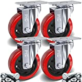 Best Car Wheel Dollies - DSL 4 x Heavy Duty UNBRAKED Double Bearing Review