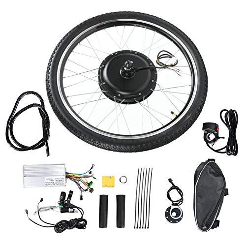 wosume 【𝐕𝐞𝐧𝐭𝐚 𝐏𝐫𝐢𝐦𝐚𝒗𝐞𝐫𝐚】 Kit de Motor Ebike, Resistente y Duradero, fácil de Instalar, Kit de conversión de Motor de Cubo, 48 V 1000 W para Bicicleta eléctrica(Precursor)