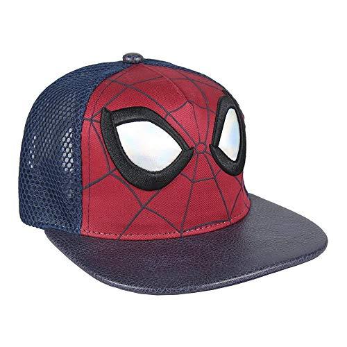 ARTESANIA CERDA Gorra New Era Spiderman, Azul (Azul Azul), M (Tamaño del Fabricante:56) para Niños
