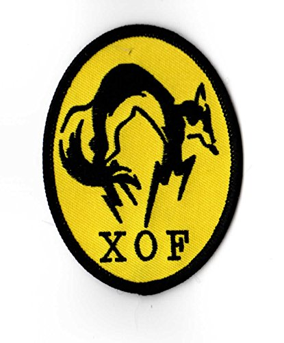 Metal Gear Solid XOF Velcro Patch
