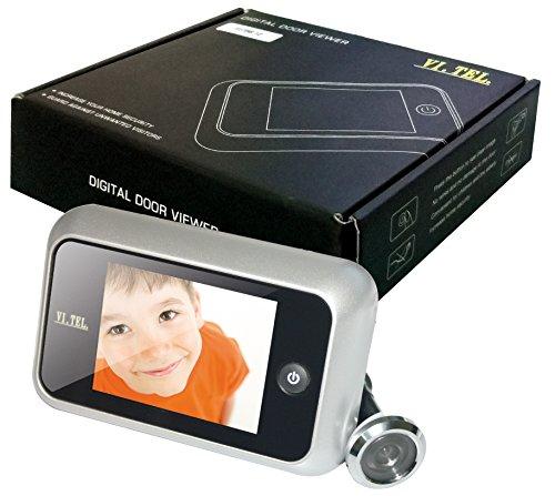 VI.TEL 'Digital Mirilla–3,5TFT con cámara, Aluminio Lacado