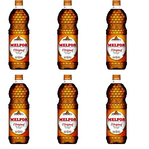 Melfor das Original Essig Würzmittel 6 x 1 Liter Flasche