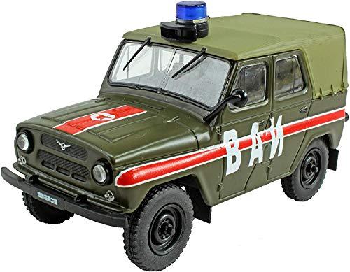 Zvezda 43001 500043001-1:43 UAZ 3909 Firefighter car ...