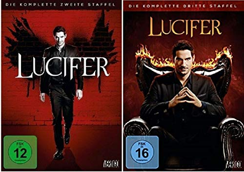 Lucifer Staffel 2+3 Die Serie [DVD Set]