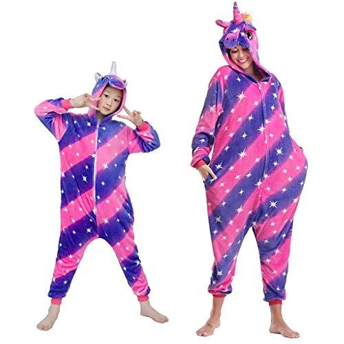 Kigurumi Schlafanzug für Karneval, Halloween, Cosplay, Unisex, für Erwachsene und Kinder L