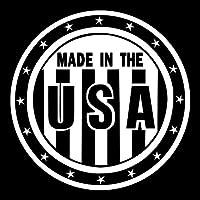 USAの車のステッカー12 * 12cmのオートバイのステッカービニールHomeウィンドウの壁車のステッカー車のスタイリングでRylybons星条旗メイド dayuhuozhan (Color Name : Reflective white)