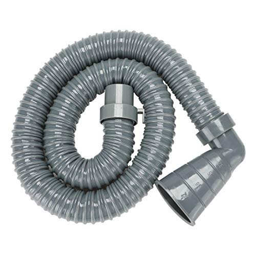 N/A 90 Grad Winkel rechts, gewinkelt, für Waschmaschine, Verlängerungsschlauch, Ablaufgarnitur, mit Zange, tragbar, für Waschmaschine, Entladung, Ersatzteil