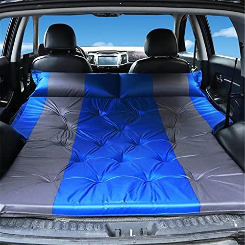 Weq2019 Auto aufblasbarare matratze kofferraum SUV Camping Luftmatratze tragbare Automatratze (Color : B Blue, Tamaño : 175)