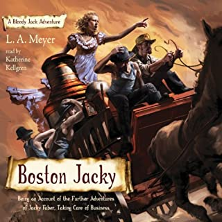Boston Jacky audiobook cover art