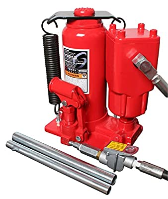Sunex 4912CAH 12 Ton Air/Hydraulic Bottle Jack