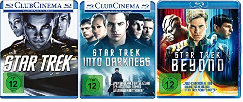 Star Trek - Kinofilme 11+12+13 im Set - Deutsche Originalware [3 Blu-rays]