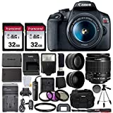 Canon EOS Rebel T7 Digital SLR Camera with EF-S 18-55mm...