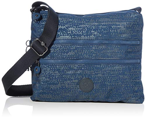 Kipling Alvar, Crossbody Donna, Blue Eclipse Pr, 4.5x33x26 cm