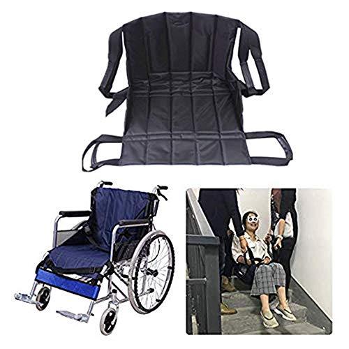 Jeamive Patient Lift Treppe Board Transfer Notfall Evakuierung Stuhl Rollstuhl Gürtel Sicherheit Ganzkörper medizinische Hebeschlingen Schiebescheibe Verwendung für Senioren, Handicap