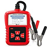 KZYEE KS21 Battery Tester, 12V CCA Auto Battery Load Tester Car Digital Analyzer for Vehicle Battery Health, Cranking and Charging System
