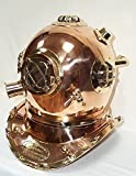 Patent Taucherhelm Mark V Navy Diving Helmet 1897, Original Nachbau