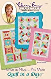 Quilt in a Day Twice as Nice Quilt Pattern