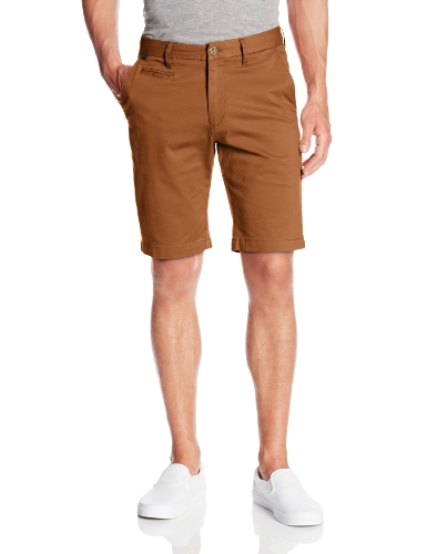 Fox - - Selecter Chino Shorts Homme, 31, Adobe
