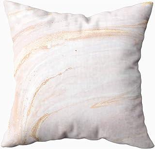 Ducan Lincoln Pillow Case 2PC 18X18,Funda De Almohada Suave,Fundas De Funda De Almohada Cuadradas Técnica Oriental Textura De Mármol De Fantasía Abstracta Fondo Romántico En Colores Pastel