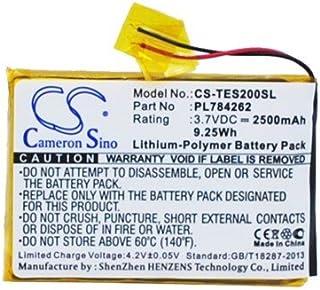 CS-TES200SL Baterie 2500mAh compatibel met [TEASI] One 2 vervangt PL784262