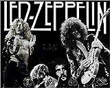 Led Zeppelin Vintage Rock 29 - Póster de la película - Mejor impresión artística de calidad para decoración de pared, Poster A4