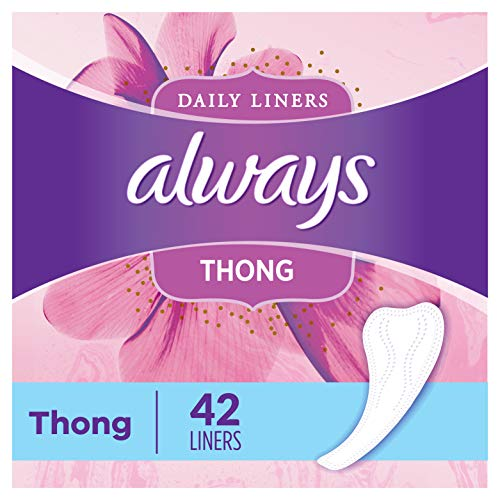 Always Radiant Daily Feminine Panty Liners for Women, 384 Count, Regular Absorbency, Unscented, Wrapped (96 Count, Pack of 4 - 384 Count Total)