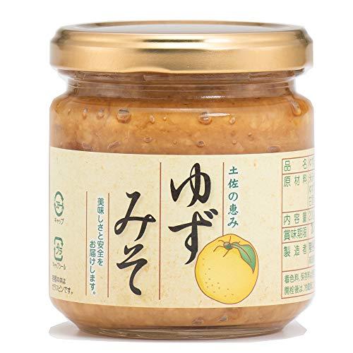 ゆずみそ 200g×1瓶 猪谷農産 着色料・保存料不使用 高知県産自家製柚子を贅沢に使用した、香り高いゆず味噌