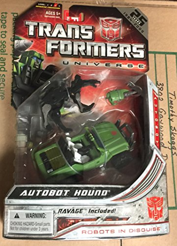 Transformers Universe Deluxe Figure Hound with Ravage