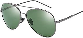 SGJFZD Outdoor Seaside Sunscreen UV400 Polarized Sunglasses Fishing Vintage Retro Sporting Large Frame Elegant Sunglasses Trendy (Color : Grey)