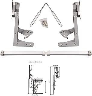 LIPOVOLT Cabinet Door Hinges Vertical Swing Lift Up Stay Pneumatic Arm Kitchen Mechanism Hinges
