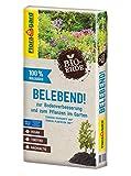 Torffreie Bio-Spezialerde für das sichere Wachstum von Gehölzen und Stauden im Garten Fein abgesiebter Grünschnittkompost trägt zur Nährstoffversorgung bei und belebt die Erde Gesundes Anwachsen dank dem veganen Dünger Flora Veggie Power Bio-Holzfase...