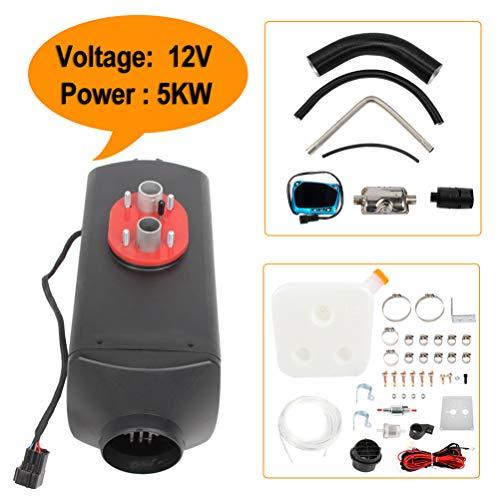 Review AUTOMUTO 5KW 12V Diesel Air Heater Parking Heater Diesel for Caravan RV and Bus(Black)
