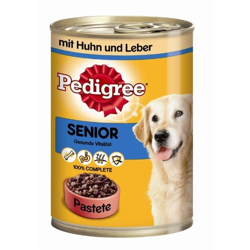 Pedigree | Senior mit Huhn & Leber in Pastete | 12 x 400 g