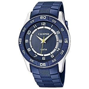 Calypso Reloj Analógico para Chico de Cuarzo con Correa en Plástico K6062/2