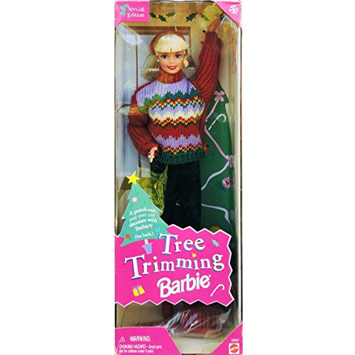 Barbie 1 X Christmas Tree Trimming Doll - Holiday Special Edition (1998)