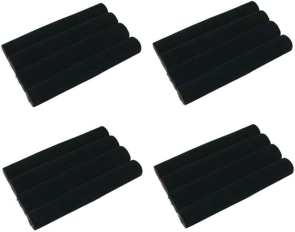 ifavor123 Set of 4 Black Velvet Ring Sale item Jewelry Tray Pads for Foam List price