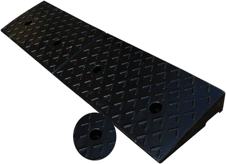 BYPING Rubber Kerb Recommended Ramps Home Accessibility Threshold Ramp High order Wheel