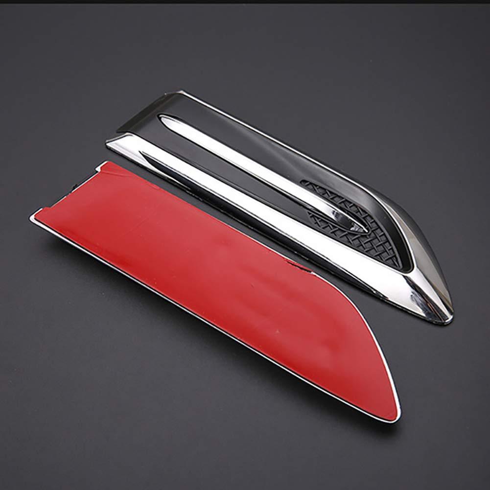 Kotfl/ügelhaube auf der Autoseite dekorativ f/ür Mercedes-Benz Serie-A B C E S G M ML GLK CL CLK CLS GL GLK R SL SLK SLS AMG 2 STK//Set Links und rechts