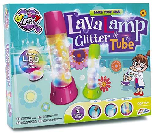 Grafix Make Your Own Lava Lamp & Glitter Tube Kids Science Activity Kit