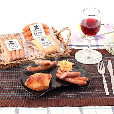 手造りハム工房蔵 豚とろハム・ソーセージセット 鹿児島産の豚肉・国産の桜のチップ使用