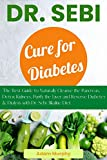 Dr. Sebi Cure for Diabetes: The Best Guide to Naturally Cleanse the Pancreas, Detox Kidneys, Purify the Liver and Reverse Diabetes & Dialysis with Dr. Sebi Alkaline Diet