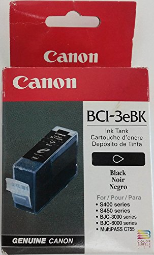Canon Model BCI-3eBK Black Ink Tank