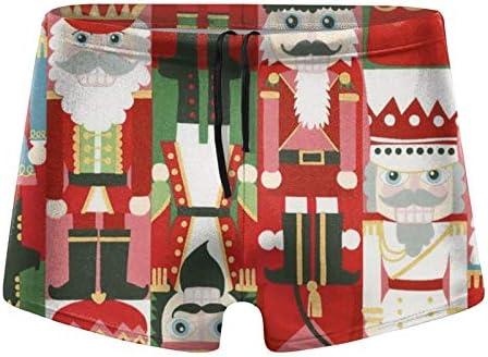 Mens Swim Trunks Christmas Time Nutcracker Swimming Shorts Swimsuit product image
