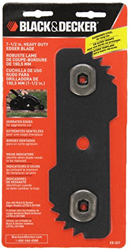 BLACK+DECKER EB-007 Edge Hog Heavy-Duty Edger Replacement Blade, 7-1/2-inch